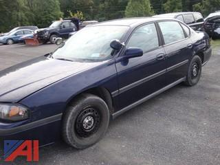 (#61) 2002 Chevy Impala 4 Door