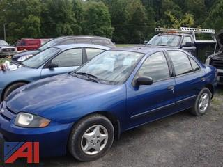 (#64) 2004 Chevy Cavalier 4 Door