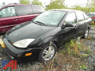 2001 Ford Focus SE 4 Door