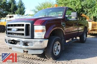 2008 Ford F250 XL Super Duty Pickup Truck