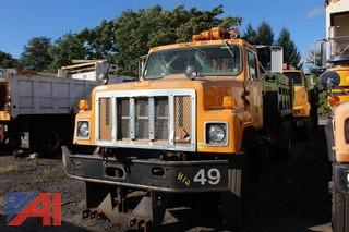 2001 International 2554 Dump/Basin Cleaner Truck