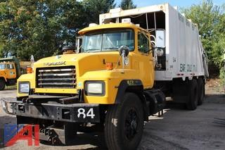 2002 Mack RD690SX Packer/Garbage Truck