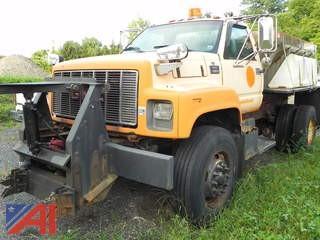 (#1) 2000 GMC C7H042 Sander Truck