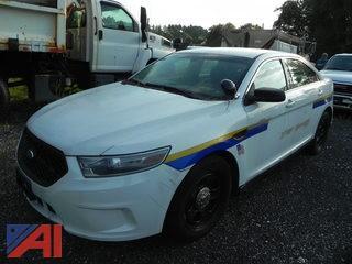 (#3) 2013 Ford Taurus 4 Door/Police Vehicle
