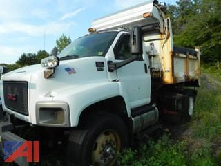 (#4) 2008 GMC C8500 Dump Truck with Plow