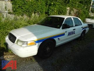 (#6) 2011 Ford Crown Victoria 4 Door/Police Interceptor