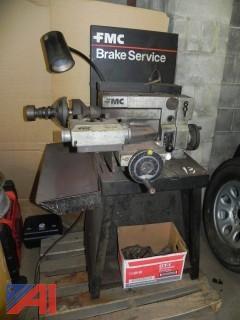 (#13) FMC 601 Brake Lathe