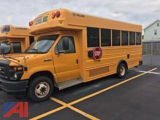 2010 Ford E450 Mini School Bus with Wheelchair Lift