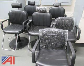 Hydrophilic Styling Chairs, Shampoo Chairs & Dryers