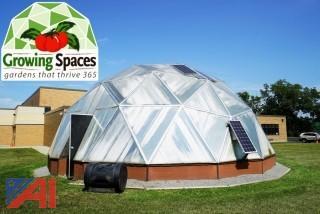 33' Geo-Dome High Performance Greenhouse