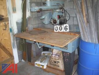 "Delta 10"" Radial Arm Saw"