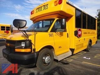 2013 Chevy Express G4500 Wheel Chair School Bus