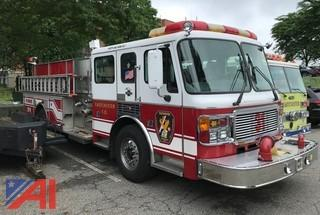 2001 Freightliner American LaFrance Fire Truck