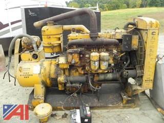 125 kw Caterpillar D326F Diesel Generator