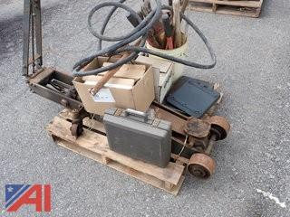 10-Ton Floor Jack and Miscellaneous Tools