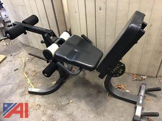 Parabody Weight Bench For Leg Curls