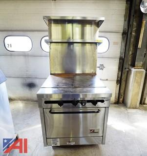 "Southbend 32"" Hot Top Gas Oven/Range"