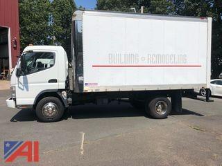 (13734) 2007 Mitsubishi FE140 Box Truck