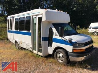 (12468) 2012 Chevy Express G4500 Bus