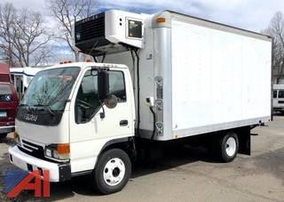 (13382) 2005 Izusu NPR Box Truck