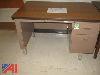 Steel Teachers Desk