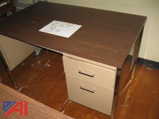 Metal Teacher's Desk