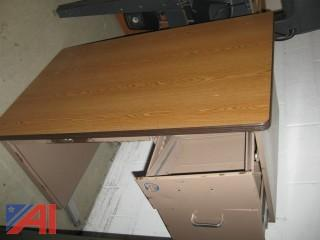 Steel Teacher's Desk