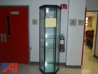 (#130) Glass Display Case