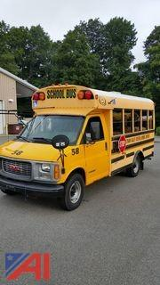2002 GMC Savana 3500 Mini School Bus