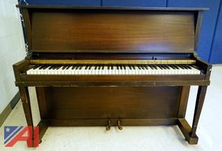 Crown Vintage Upright Piano