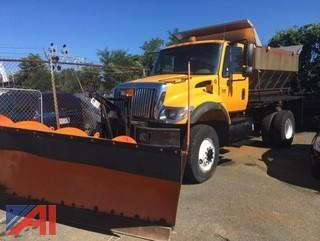 2003 International 7400 Sander Truck with Plow