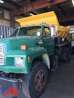 **Reserve has been Lifted** 1992 Ford F800F Sander Truck