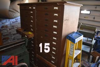 6' x 4' Wood Cabinet