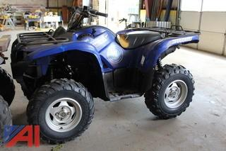 2011 Yamaha Grizzly 550 FI ATV