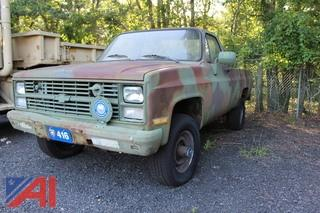 1986 Chevy D30 Pickup Truck