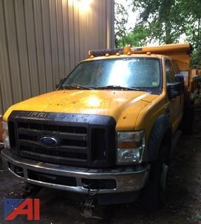 (#1) 2008 Ford F550 Dump Truck