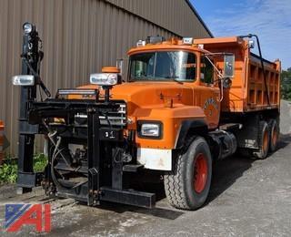 2002 Mack RD688S Dump Truck & Plows