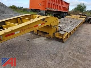 1991 Eager Beaver 24' Heavy Equipment Semi Trailer