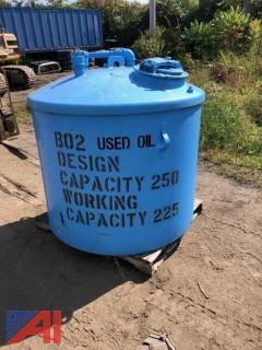 250 Gallon Fuel Storage Tank