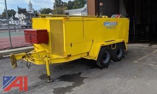 1989 SRECO Flexible Hy-Power HV 1800 Sewer Flusher