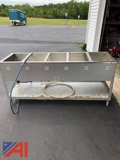 Duke Aerohot Wetbath Steam Table