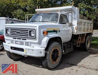 1990 Chevrolet C7D042 Dump Truck