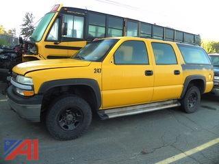 (247) 2002 Chevy 2500 Suburban