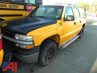 (238) 2002 Chevy 1500 Suburban