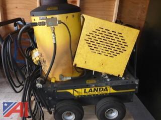 (#1571) 1999 Landa Pressure Washer