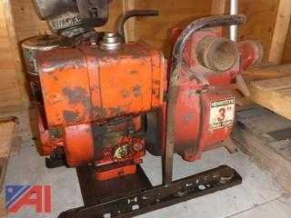 (#1574) Homelite Trash Pump