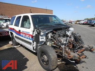 2006 Chevy Tahoe SUV (for Parts)