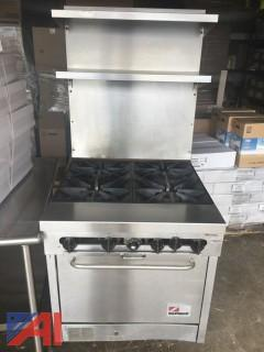 Southbend Commercial  High Back Stove/Oven