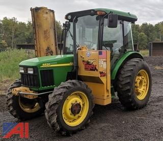 2001 John Deere 5520 Tractor & Attachments