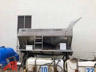 2006 Highway E2020 XT Stainless Steel Salt Hopper